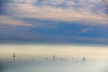 Frankfurt im Nebel by Thomas Brandt