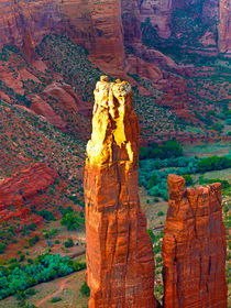 Last Sun on Spider Rock by Peter Tomsu