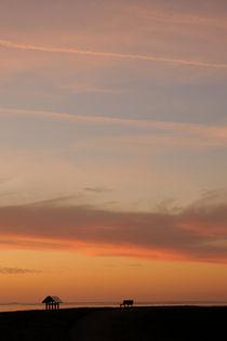 Cloudy Sunset by Peter Steinhagen