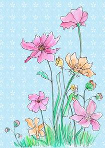 Flowers - dekorativ by Verena Münstermann