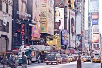 New York Street Scene I by Marcus Kaspar