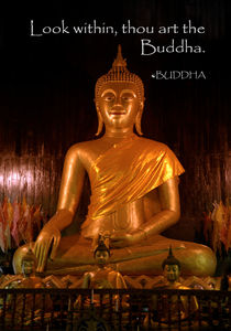 Buddha inspiration  by James Menges