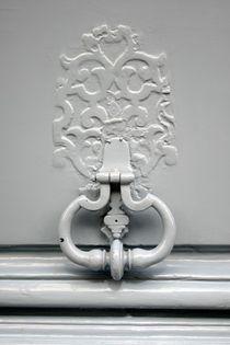 Marteau de porte parisien gris von gerardchic