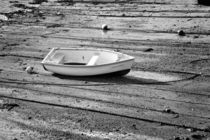 Dinghy at Low Tide by Louise Heusinkveld