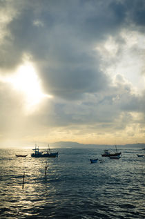Fisherboats - Sri Lanka by spotcatch-net-photography