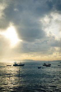 Fisherboats - Sri Lanka von spotcatch-net-photography