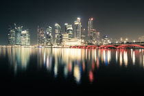Singapore Skyline by spotcatch-net-photography