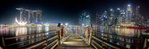 Singapur Skyline by spotcatch-net-photography