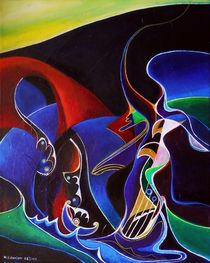 Sirens, Scylla and Charybdis by Wolfgang Schweizer