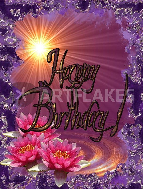 Happy birthday card graphic illustration art prints and - Happy birthday carmen images ...