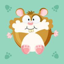 Kugeltier hamster von Michaela Heimlich