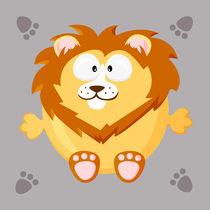 Kugeltier Löwe by Michaela Heimlich