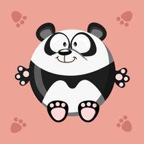 Kugeltier Panda von Michaela Heimlich