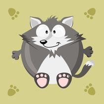 Kugeltier Wolf von Michaela Heimlich