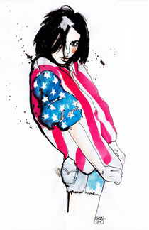 american girl by Sara Ligari