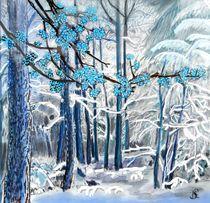 Der blühende Winterwald by Heidi Schmitt-Lermann