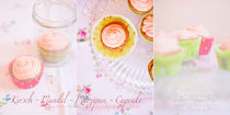 Collage-kirschmandelcupcake