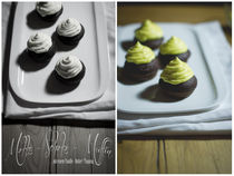Collage-mokkamuffin