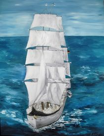 Segelschulschiff Gorch Fock von Bärbel Knees