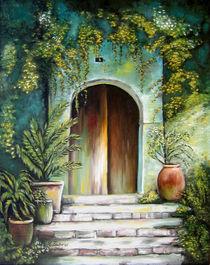 Mediterranes Flair - mediterrane Gemälde by Marita Zacharias