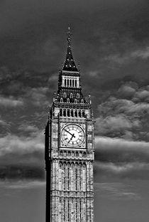Big Ben black & white von M.  Bleichner