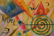 The Kandinsky Swirl von Warren Thompson