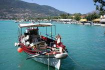 fishing boat by Milena Zindovic