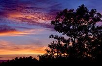 Sundown in August by Keld Bach