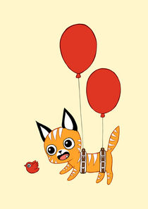 Balloon Cat von freeminds