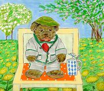 Teddybär by Heidi Schmitt-Lermann
