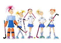 Hockey-femininas von Monika Blank-Terporten