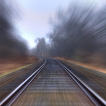 Riding the Rails by Keld Bach