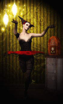 Ballerina in Black by sisterofdarkness