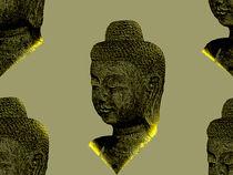 Glowing Buddha by tiaeitsch