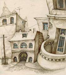 Round balcony. by Tatiana Popovichenko