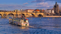 Approaching the Charles Bridge by Keld Bach