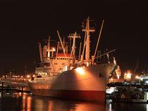 Cap San Diego bei Nacht von Dirk Passarge
