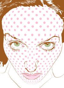 Pop art face by A. Shawkash