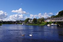 Lough Erne at Enniskillen by John McCoubrey