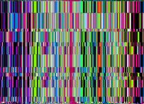 Vertical Stripes#9 von badrig