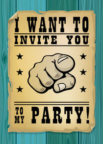 I want to invite you to my party by Maarten Rijnen