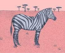 Zebra von Alice Potter
